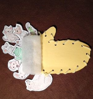 The Mitten Story Craft -Great for Jan Brett author study