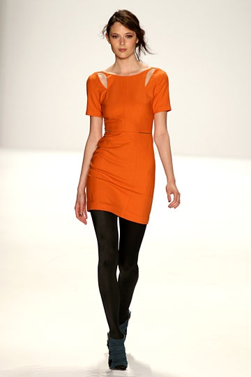Rebecca Minkoff Fall 2012 RTW Tangerine
