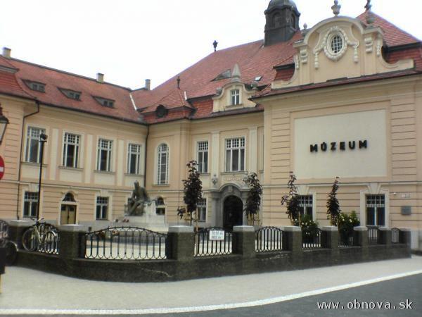 Historickú budovu Podunajského múzea v Komárne čaká rekonštrukcia