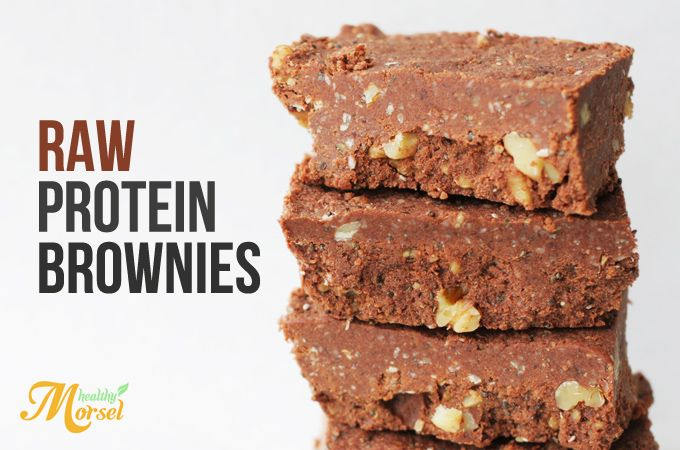 Raw Protein Bar Brownie Recipe!