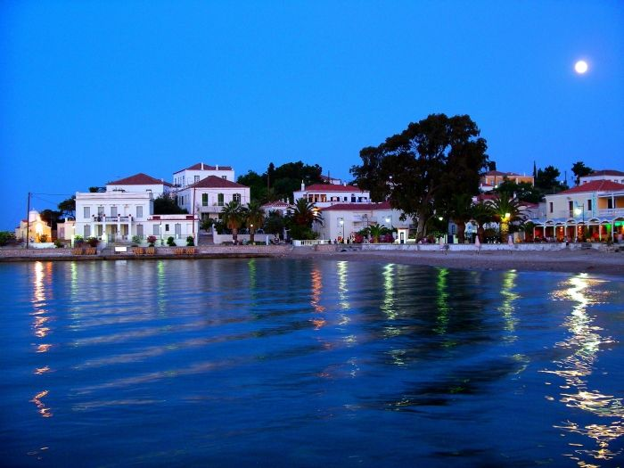 The picturesque town of Spetses