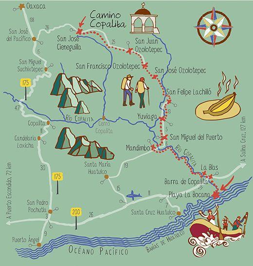 Día 6: rafting, la última aventura para llegar a Copalita | México Desconocido #infografia #mapas #mapamexico #copalita #oaxaca #viaje
