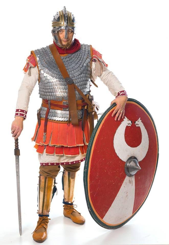 Robert Vermaat from Fectio as a Late Roman soldier