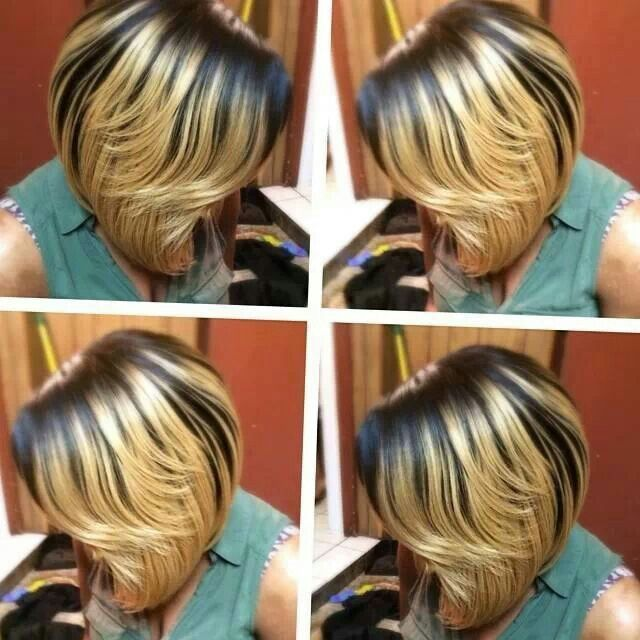 Gold And Black Always Look Good Together Hair