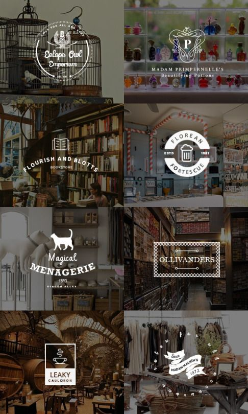 """Diagon Alley - thinking the first night joeys take a trip down diagon alley to """"purchase"""" / create the items they will need for their school year at hogwarts"""