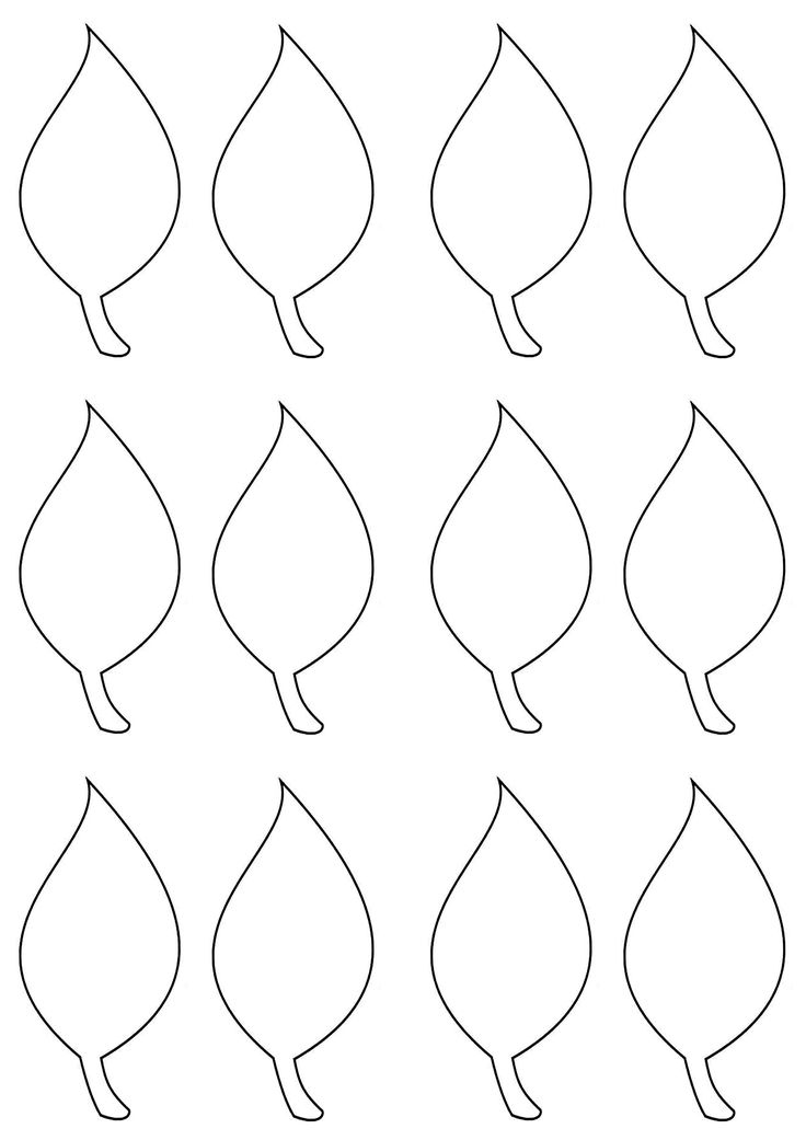 1000 Ideas About Leaf Template On Pinterest Templates