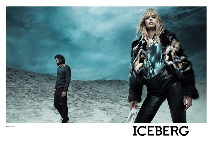 ICEBERG - Fall Winter 2012 - 2013 / Photographer:  Willy Vanderperre / Model: Edita Vikeviciute