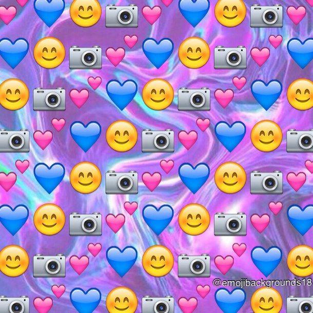 Love Emoji Wallpaper : emoji, emojis, emoji background Emoji s Pinterest ...