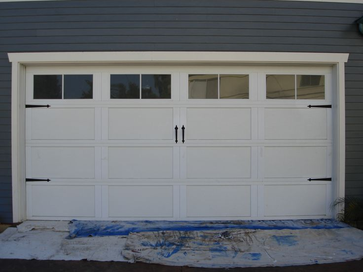 17 Best Ideas About Craftsman Garage Door On Pinterest