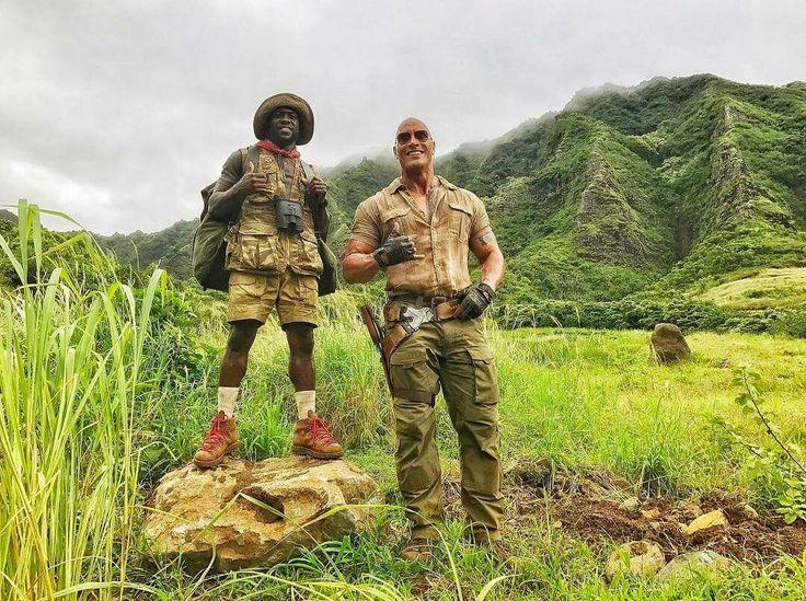 "Dwayne ""The Rock"" Johnson & Kevin Hart"