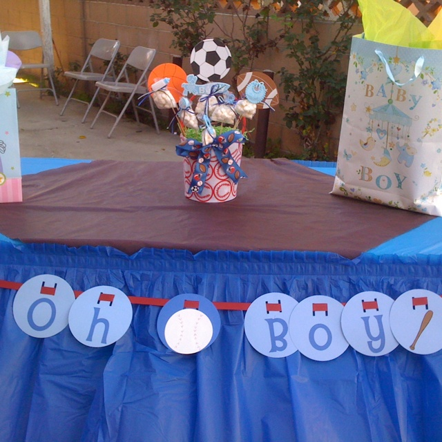 Sports Theme Baby Shower Boy Baby Shower Themes Baby
