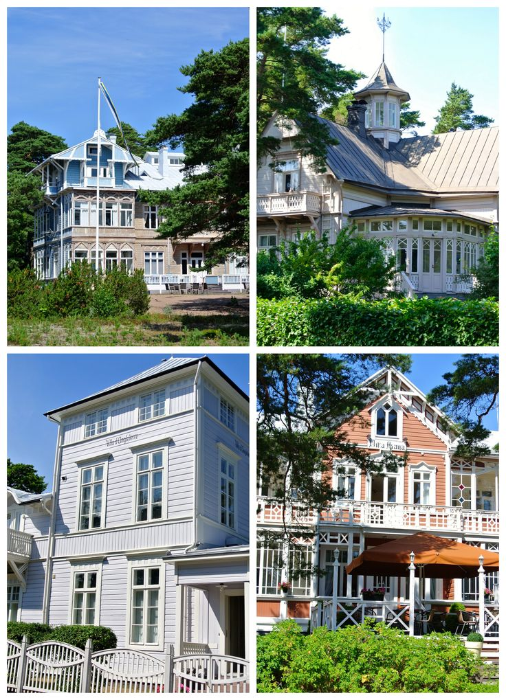 Hangon huvilat - Villas in Hanko, Finland