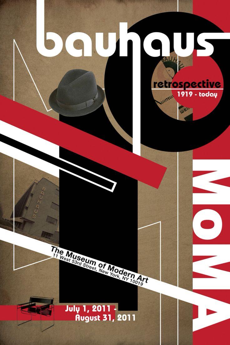 Bauhaus Poster / MoMA The Museum of Modern Art / © 2011