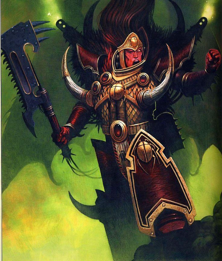 Magnus the Red, Daemon Prince of Tzeentch