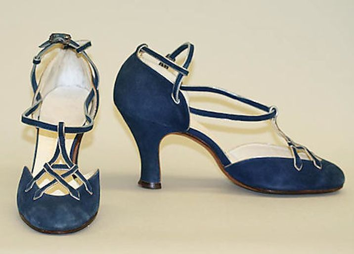 1920's shoes - Franklin Simon - Leather - The Metropolitan Museum of Art