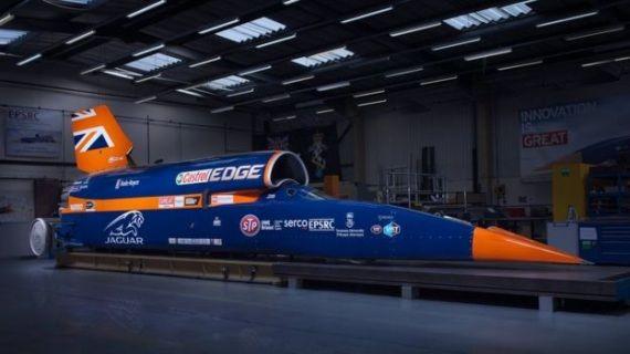 buongiornolink - Bloodhound Super-Sonic Car, l'auto che corre a 1.600 kmh