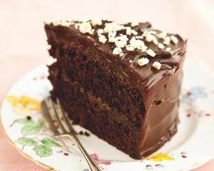 Gluten free chocolate fudge cake