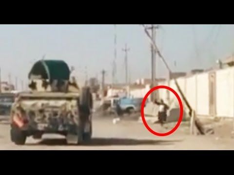 LiveLeak.com - Iraqi Special Forces Intense Close Call With Suicide Bomber During Heavy Clashes In Anbar