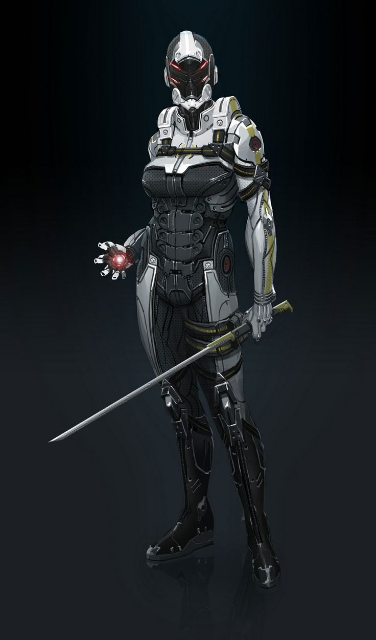 Phantom - Pictures & Characters Art - Mass Effect 3