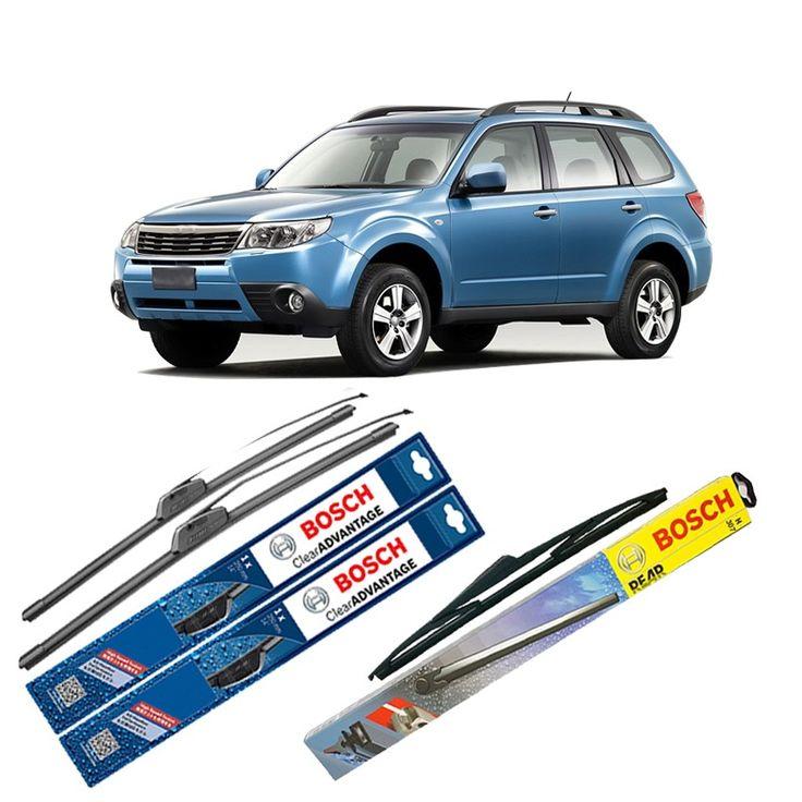 "Bosch Wiper Depan Frameless New Clear Advantage & Belakang u/ Mobil Subaru Forester S12 24"" & 18"" + H354 - 2Buah/Set  Frameless Umur Pakai & Daya Tahan Lebih Lama Penyapuan kaca yang senyap Performa Sapuan Optimal Instalasi Mudah & Cepat Original Produk Bosch  http://klikonderdil.com/frame-less/1234-bosch-wiper-depan-frameless-new-clear-advantage-belakang-u-mobil-subaru-forester-s12-24-18-h354-2buahset.html  #bosch #wiper #jualwiper #frameless #subaruforester"
