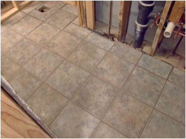 Awesome Luxury How To Lay Tile In A Bathroom Floor Part 82
