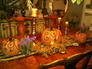 Dina Manzo's dining room