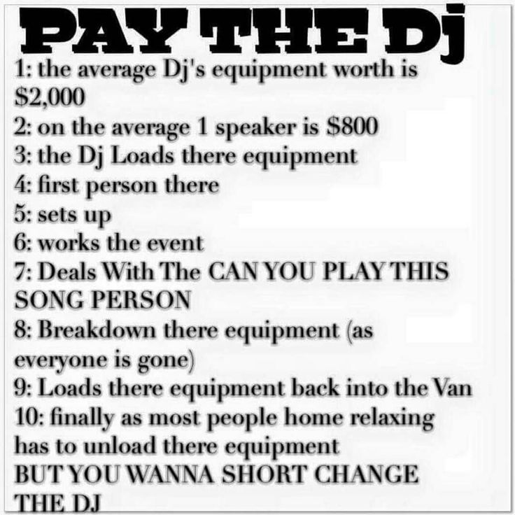 I saw this on boy @dj_chino_tsp facebook and was so funny and true... Well what do you think??. Because sometimes people want the Service Free or for a real small Fee... @latinmixmasters#tuneinradio#latinchannel#latin #seratodj #pioneerdj#bpmquest#bpmsupreme #bpmlatino #sabadosdegozadera#djs#djsunidos #elvacilon #technicssl1200#latinmixmasters #latinchannel #djhermanydjjexsey#mambo #veneko_y_jeylouis…