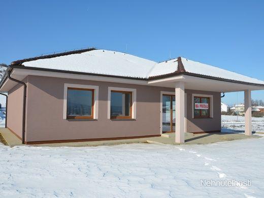 Slovakia likes bungalov houses  - Nice one for sale   Krásny novopostavený RD bungalov v Novom Meste n/V - obrázok