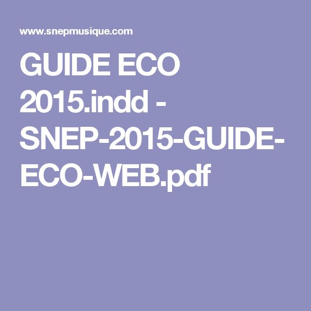 GUIDE ECO 2015.indd - SNEP-2015-GUIDE-ECO-WEB.pdf