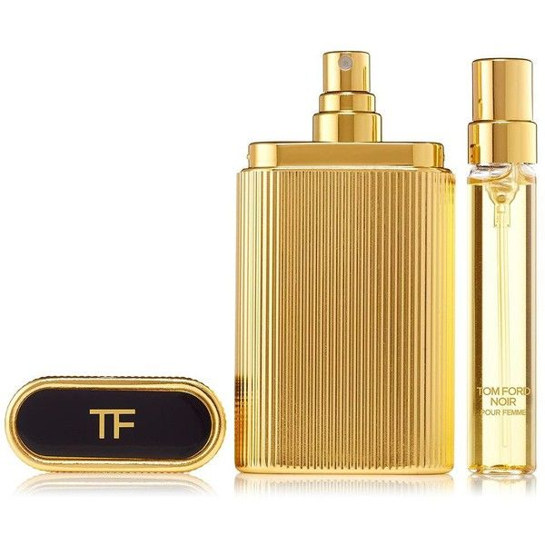 Tom Ford Noir pour Femme' Perfume Atomizer/1 oz. (1.555 DKK) ❤ liked on Polyvore featuring beauty products, fragrance, apparel & accessories, no color, tom ford, edp perfume, eau de parfum perfume, parfum fragrance and perfume fragrance