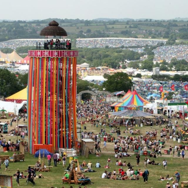 Andare al glastonbury festival 2016