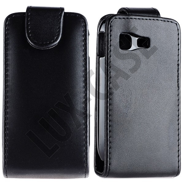 Classic Samsung Galaxy Pocket Læder Case (Sort)