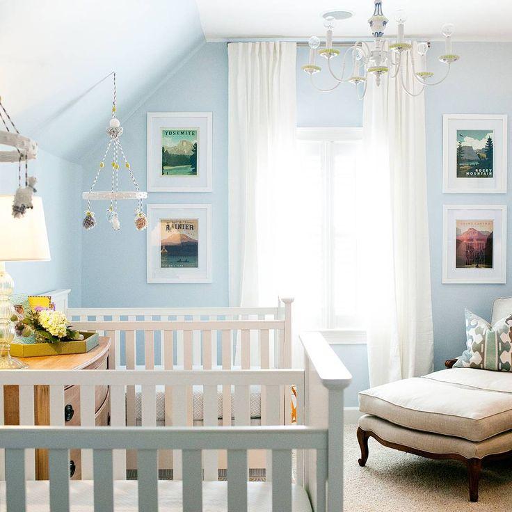 """76 Likes, 11 Comments - @natalietoyinteriordesign on Instagram: """"Our sweet little twin boy nursery design.  @la_fotoista  #twinnursery #nurserydesign…"""""""