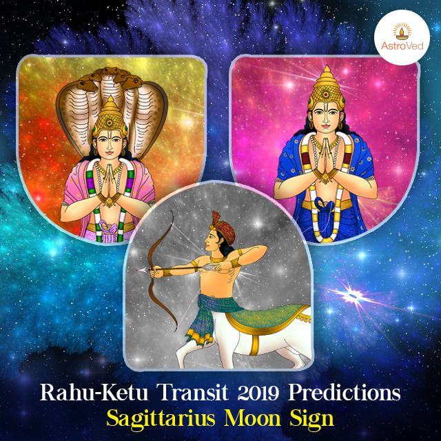 Rahu Ketu Transit 2019 for Sagittarius Moon Sign | Rahu Ketu