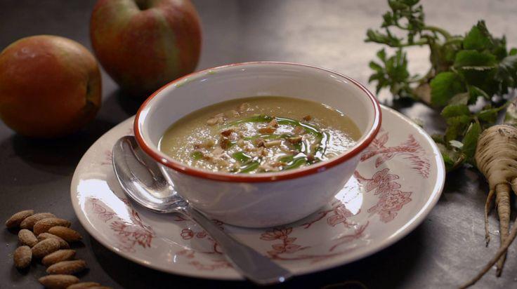 yvette v boven pastinaak appel soep