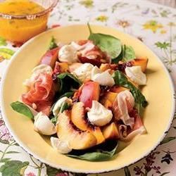 Perske-mozzarella-en-parmaham-slaai