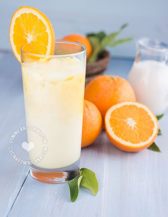 Morir Soñando Recipe: (Milk and Orange Juice): This marvellous beverage should be the official drink of the Dominican summer. Easy recipe too.