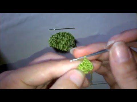 Diy chapeu croche para barbie / hat crochet barbie - faça você mesma - YouTube