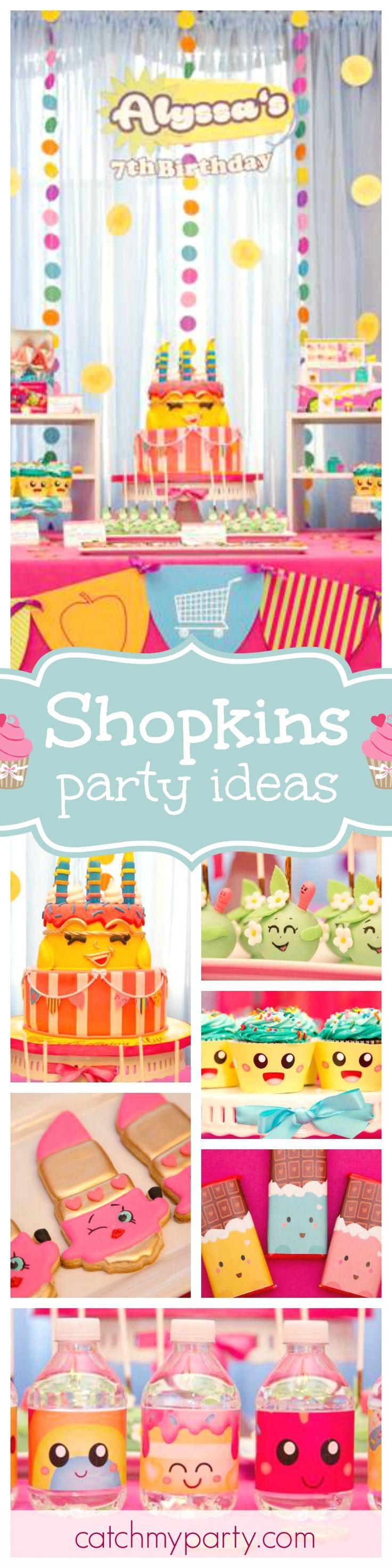 168 best Shopkins Party Ideas images on Pinterest Shopkins party