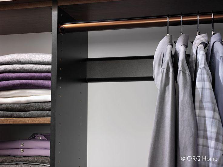 Copper Closet Rod In Your Custom Closet. Get Your Dream Closet At NOLA  Closets.