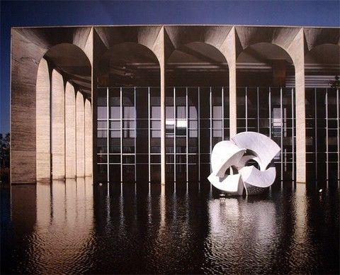 Дворец Итамарати,Бразилиа,Бразилия 1956
