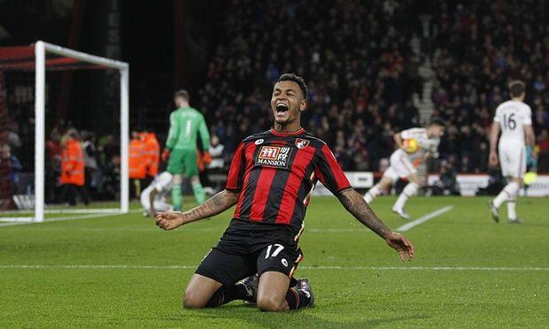 Bournemouth 2 – 1 Man Utd King's Goal in 54' -  http://www.football5star.com/highlight/bournemouth-2-1-man-utd-kings-goal-in-54/