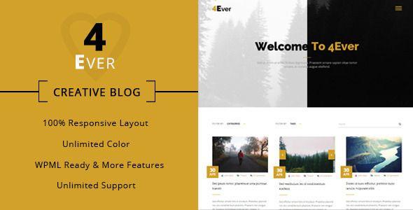 http://themeforest.net/item/4ever-minimal-wordpress-blog-theme/10929634?ref=zozothemes