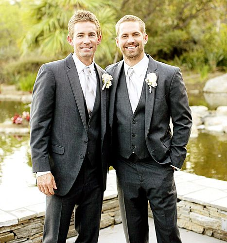 See touching photos of Paul Walker serving as best man at his brother Cody's wedding just six weeks before his death.