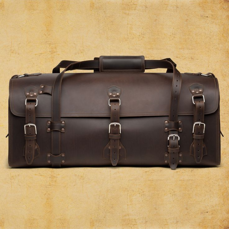 if you ever plan to travel with a colt revolver wrapped in a loro piana sweater, this is the bag. via saddleback leather