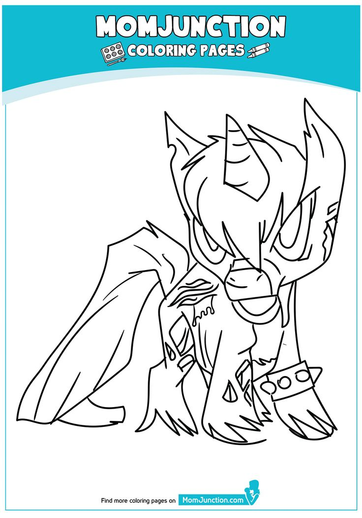 Beautiful Unicorn Head Coloring Page | Coloring pages ...