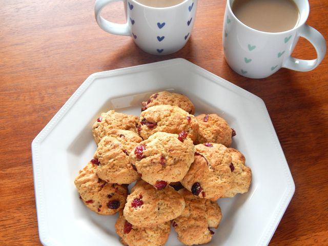 Chantell Clark: My Cranberry Cookie Recipe