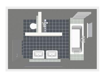 54 best badkamer images on pinterest bathroom ideas room and live - Klein badkamer model ...
