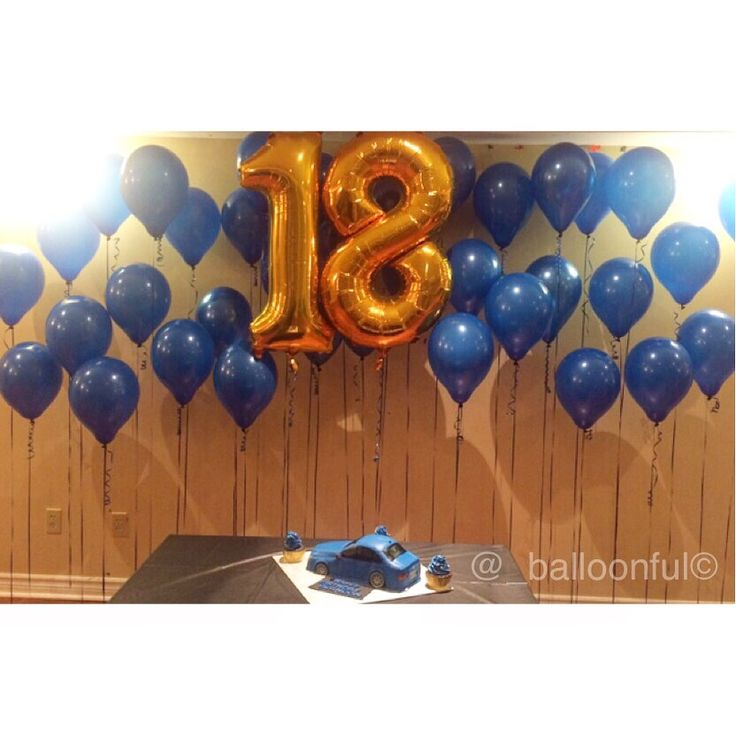 16 Best 18th Birthday Balloons Images On Pinterest