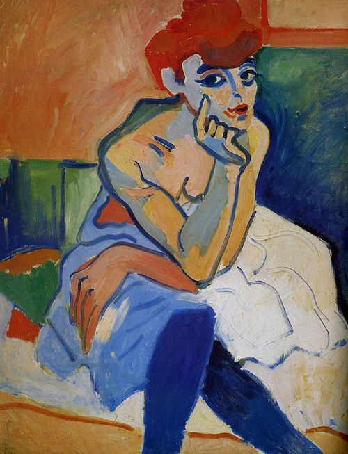 André Derain | (1880– 1954) French artist, co-founder of Fauvism with Henri Matisse
